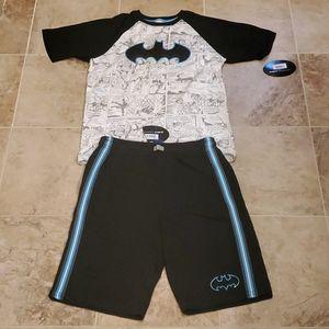 Boy's Batman shorts and t shirt set